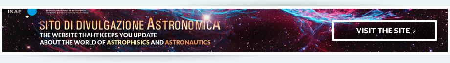 Banner Divulgazione Astronomica