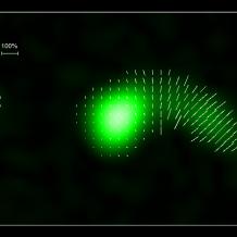 SRT: il buco nero supermassivo che precipita su un ammasso di galassie
