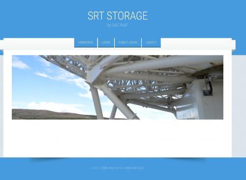 Storage e accesso ai dati osservativi di srt