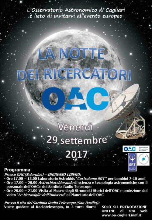 OAC e la Notte dei Ricercatori 2017