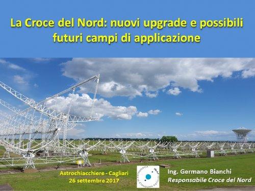 La Croce del Nord: nuovi upgrade e possibili futuri campi di applicazione
