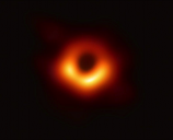 The first image of a black hole with the Event Horizon Telescope.