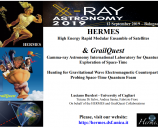 HERMES & GrailQuest: Hunting for Gravitational Wave Electromagnetic Counterparts Probing Space-Time