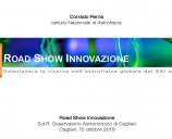 Road Show Innovazione: Valorizzare la ricerca nell Astrofisica globale del XXI secolo