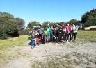 Foto di gruppo prima di partire per il trekking. Che ora è?